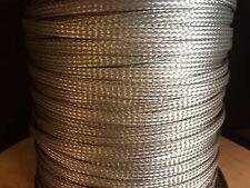 "97.5ft AA59569R36T0250 QQ-B-575 Tinned Copper Tubular Braid 1/4"" QQB575R36T0250"