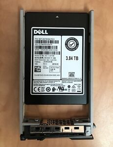 Dell 3.84TB SAS 6 Gbps 2.5 SSD 7mm (with caddy)