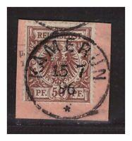 DAP, Kamerun, 1895 Michelnummer: V 50 o, gestempelt o, Katalogwert € 65,00
