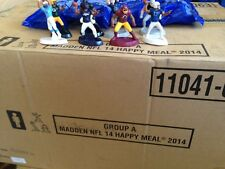 Case (150 packs) McDonald's Madden Football Happy Meal Toys- Cowboys, Packers