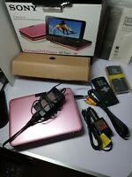 Sony DVD portable DVP-FX 820 Pink Color Full Accessories Box tested works