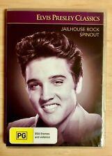 Elvis Presley Classics: Jailhouse Rock / Spinout 2-Movie Pack DVD R4 VG Cond.