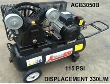 Air Compressor 3HP 240v 50 litre Twin Cyl Workshop Garage Part No ACB3050B