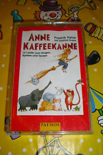 Anne Kaffeekanne Kinderlieder Kassette Fredrik Vahle mit Dietlind Grabe Musik MC