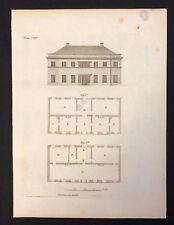 Antigüedad 1800 impresión constructores revista de diseño de arco. para una casa de impresión CXIV