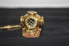 New listing Solid Brass Vintage Diver Helmet Key Chain Nautical