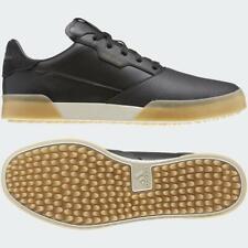 adidas Adicross Retro Golf Shoes (Black / Gold Metallic / Brown - UK 9.5)