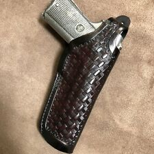 "Colt 1911 45 Model,Remington,RIA,Springfield, 5"" Barrel, Kimber Leather Holster"
