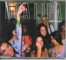 DUA LIPA - New rules CD SINGLE 2TR EU Pressing 2017 (NEW,  SEALED!!)