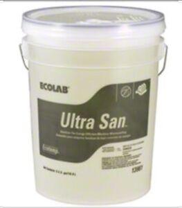 Ecolab Eco Ultra San - 5 Gallon (Surfaces, Dishes & Warewashing)