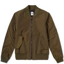Nikelab Essentials Bomber Jacket S Dark Loden Olive Green 890068-347 Nike Lab