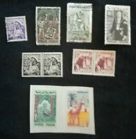 lot N°84 - 10 timbres TUNISIE