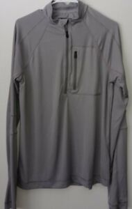 Cabela's Guidewear Hookset 1/2 Zip Fishing Pullover UPF 50 Moisture Wick - SZ M