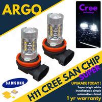 H11 Cob Led Smd Super Bright White Headlight Headlamp Main Dipped Beam Fog Bulbs