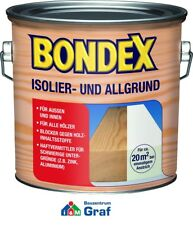 Bondex Insulating and allgrund for Indoor and Outdoor 2,5 L White Primer