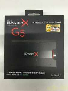 Creative Sound BlasterX G5 Hi-Res SBX-G5 for Windows / Mac / PS4 / Switch Japan