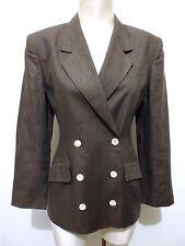 TEENFLO PARIS VINTAGE '80 Giacca Donna Lino Woman Flax Jacket Sz.S - 42