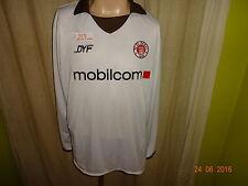"Fc st. Pauli doyou Football manga larga Camiseta 05/06 ""mobilcom"" + autografiada talla XL"