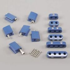 Taylor Wire - Vertex 42562 7-8mm Blue Vertical Wire Loom Kit