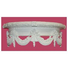 Hickory Manor Swag Bed Crown / Bright White - KT5015BW