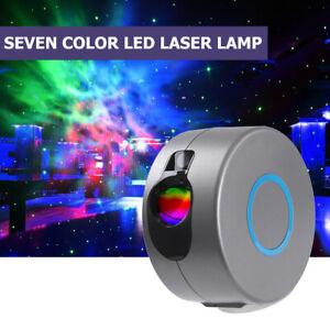 LED Star Light Projectors Night Sky Lamp Space Stars Moon Astro Galaxy Lamp