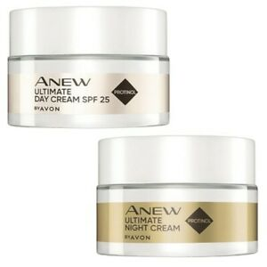 Avon Anew Ultimate Day and Night Mini Travel Size Set of 2
