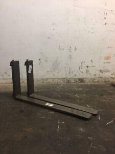 Set of Forklift Forks