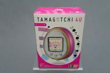 (t2e1) Tamagotchi 4u Color Pink with Cards Touch Collector Bandai