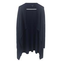 Torrid Womens Open Front Drape Cardigan Sweater Navy Blue Size 1