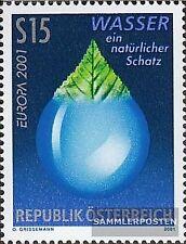 Österreich 2344 (kompl.Ausg.) gestempelt 2001 Wasser
