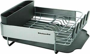 NEW KitchenAid Dish Drying Rack Dishes Drainboard Kitchen Housewarming Gift!