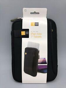 "Case Logic Tablet Sleeve With Pocket for iPad mini / 7"" Tablet Black"