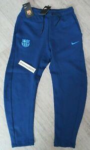NWT Nike FC Barcelona Tech Fleece Pants Sz Small 100% Authentic FCB AH5463 423