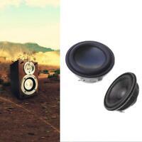2 pcs 40mm 4Ohm 5W Full Range Speaker Neodymium Magnet Loudspeaker