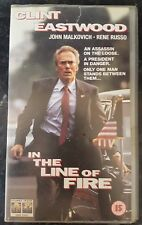 Clint Eastwood - In The Line Of Fire - Collectable VHS Video - Columbia Tristar