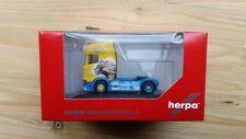 Herpa 110914 - 1/87 scania cs20 HD tracteur-Maik Terpe-Neuf