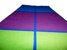 3'3'' x 6'6''  Runner Educational Rug Schools  Day Care Kids Room Decorative.