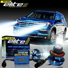 GENSSI Elite LED Bulb Headlight Lamp Upgrade Low Kit For Honda Pilot 2009-2015