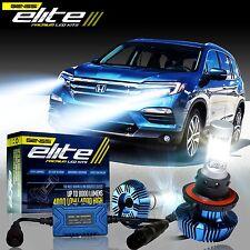 GENSSI Elite LED Bulb Headlight Lamp Upgrade Low Kit For Honda Pilot 2009-2015