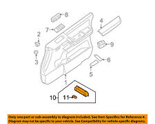 NISSAN OEM INTERIOR TRIM-FRONT DOOR-Lamp Assembly 26420JA10A