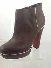 No Pattern Clubwear 100% Leather Upper Boots for Women
