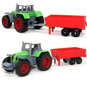 Farmer Car Agriculture Farm Tractor 1:72 Small Scale Die-cast Model Toy