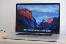 Portátiles de Apple MacBook Pro de año de lanzamiento 2009