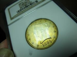 GOLD  1895 LIBERTY HEAD EAGLE  NGC  MINT STATE 63  A BEAUTY & CLEAN 4 THE GRADE