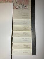 USGS Topo Maps Lot of 7- California, Los Angeles & Surrounding Areas, See Photos