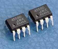20 Piezas Jrc4558d rc4558d 4558d Op Amp Ic Ics Dip - 8 Pines De Baja Potencia Nueva