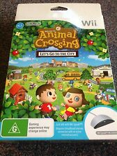 Animal Crossing Wii Speak Bundle Wii PAL brand new Aussie seller