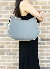 Kate Spade Jackson Street Mylie Hobo Shoulder Bag Leather Willow Gray Multi