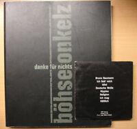 BÖHSE ONKELZ Danke für nichts Buch + limitierte CD von 1997 Biografie Geschichte