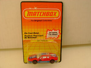 1983 MATCHBOX SUPERFAST #70 MB70 308 FERRARI PIONEER 39 NEW ON CARD